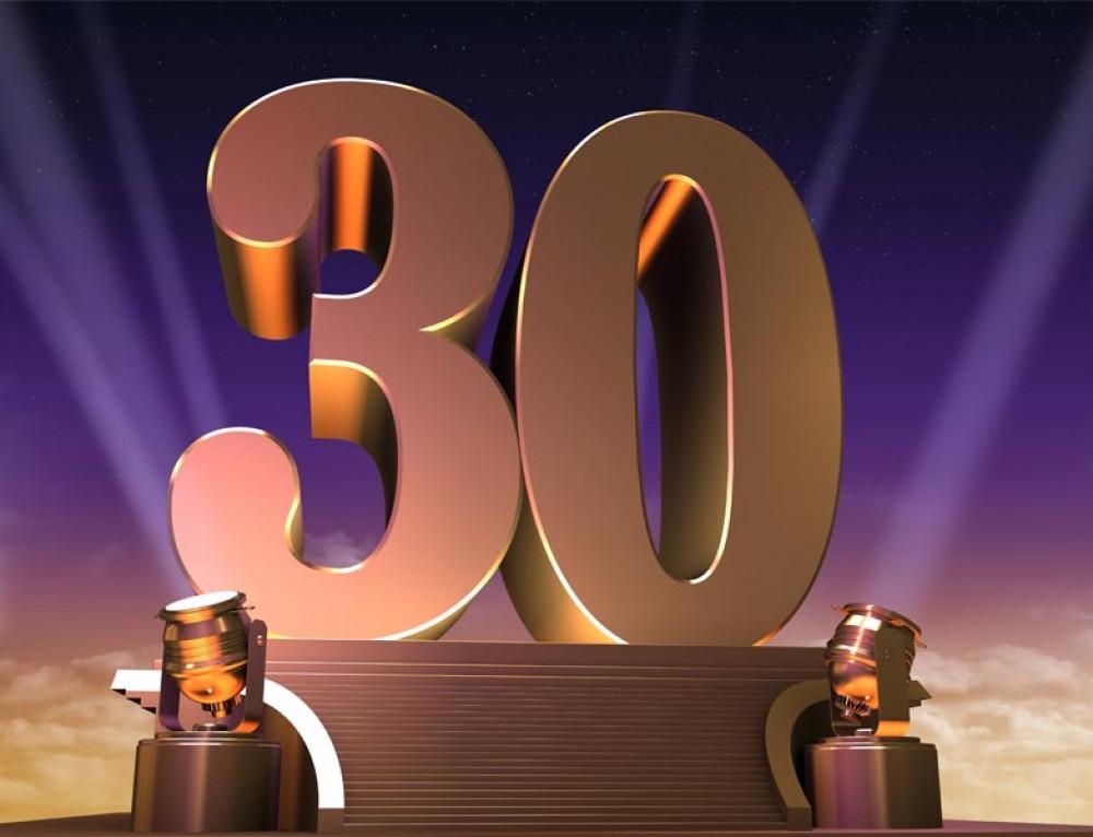 Wij bestaan 1 juli 30 jaar!